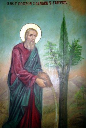 Происхождение Древа Креста Господня