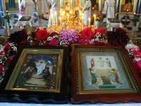 Божественная Литургия в Свято-Никольском кафедральном соборе г. Булаево