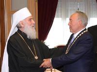 Президент Казахстана Н. А. Назарбаев награжден орденом святого Саввы Сербского I степени