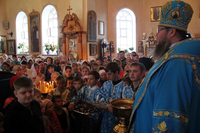Молебен на начало учебного года прошёл в Вознесенском кафедральном соборе