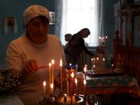Праздник Успения Пресвятой Богородицы в селе Большой Изюм