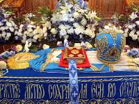 Чин Погребения Плащаницы Божией Матери в Вознесенском кафедральном соборе