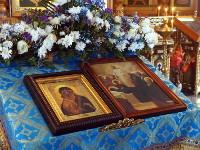 В Вознесенском кафедральном соборе почтили память Донской иконы Божией Матери