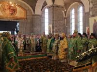 Духовные торжества посвящённые 50-летию преставления преподобного Севастиана Карагандинского продолжились в Караганде