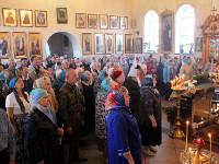 В главном храме Петропавловской и Булаевской епархии почтили двунадесятый праздник Рождества Пресвятой Богородицы