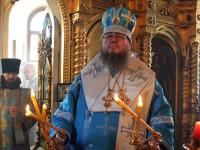 Божественная Литургии архиерейском чином прошла в храме Всех Святых города Петропавловска