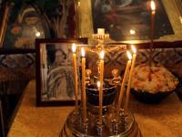 Преосвященнейший епископ Владимир возглавил Божественную Литургию в храме Всех Святых города Петропавловска