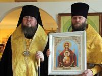 Божественная Литургия архиерейским чином состоялась в селе Смирново