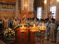 Божественная Литургия на праздник Иверского образа Пресвятой Богородицы