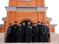 Божественная Литургия архиерейским чином состоялась в Пантелеимоновском храме села Корнеевка