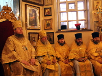 Преосвященнейший епископ Владимир совершил Божественную Литургию в главном храме епархии