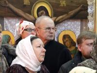 Богослужение архиерейским чином прошло в соборе апостолов Петра и Павла города Петропавловска