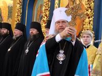 Божественная Литургия в память 50-летия преставления преподобного Севастиана Карагандинского