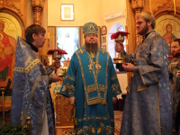 Праздник Введения во храм Пресвятой Богородицы молитвенно почтили в Вознесенском кафедральном соборе