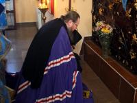 Архиерейское богослужение прошло в храме Архистратига Божьего Михаила в селе Архангельское