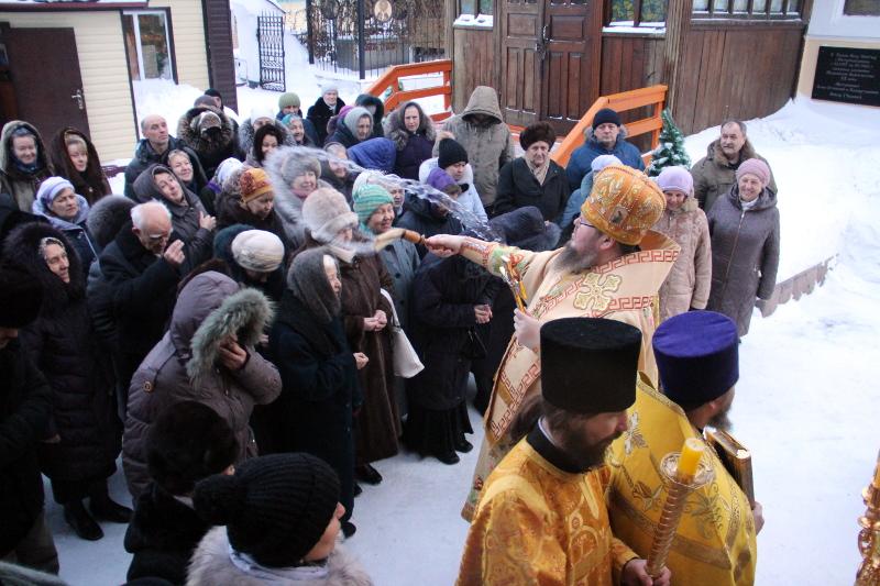Божественная Литургия в праздник Иоанна Кронштадтского