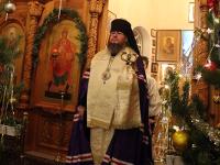 Всенощное бдение в праздник Рождества Христова в Вознесенском кафедральном соборе