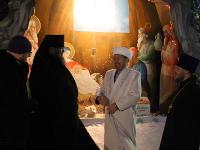 Встреча лидеров мировых конфессий области в епархиальном управлении