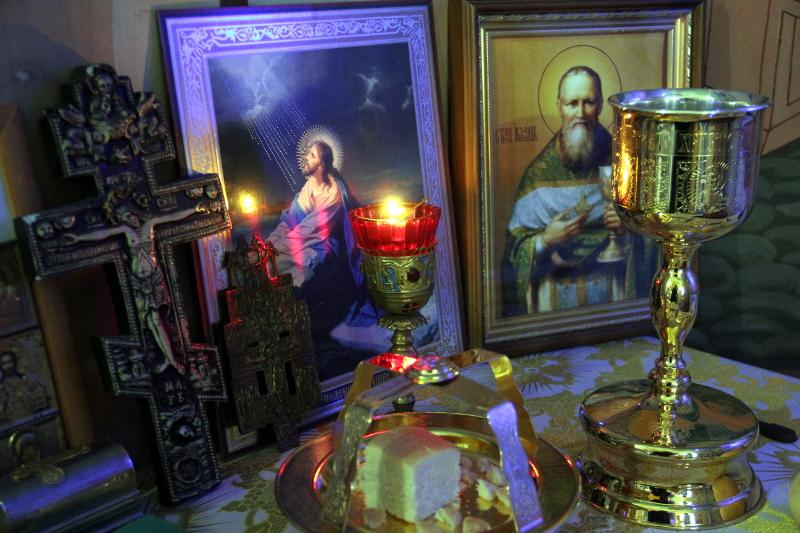 Крещенский сочельник на приходах Бишкульского благочиния