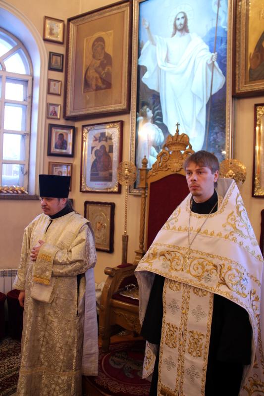 Праздник Богоявления Господня в Петропавловске