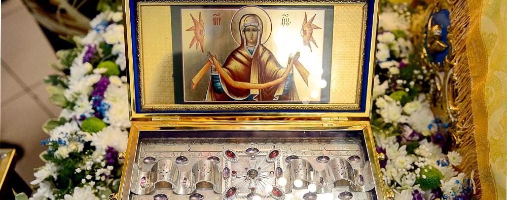 Пояс Пресвятой Богородицы посетил Северный Казахстан